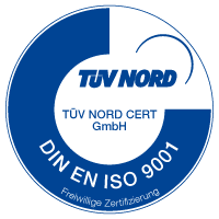 TÜV DIN EN ISO 9001
